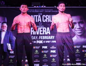 - Latest John Molina Leo Santa Cruz Omar Figueroa Rafael Rivera Santa Cruz vs. Rivera