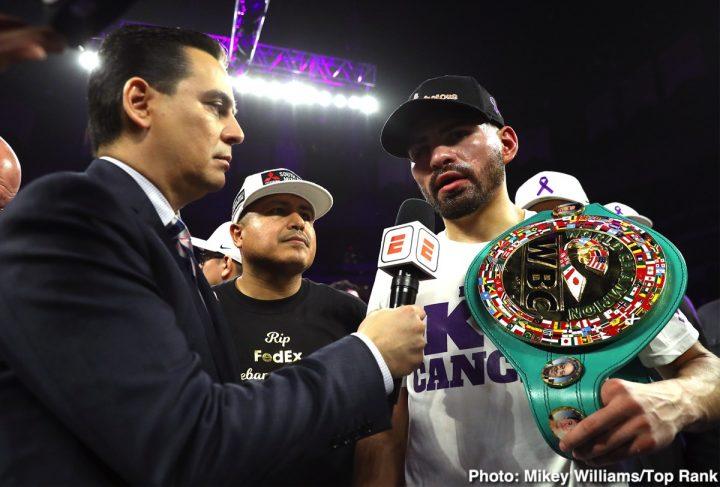 Latest ESPN JOSE RAMÍREZ Matchroom Boxing USA Maurice Hooker top rank