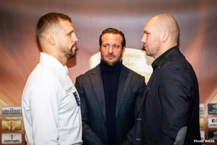 Aleksandr Usyk Briedis vs. Glowacki DAZN Krzysztof Glowacki Mairis Briedis World Boxing Super Series