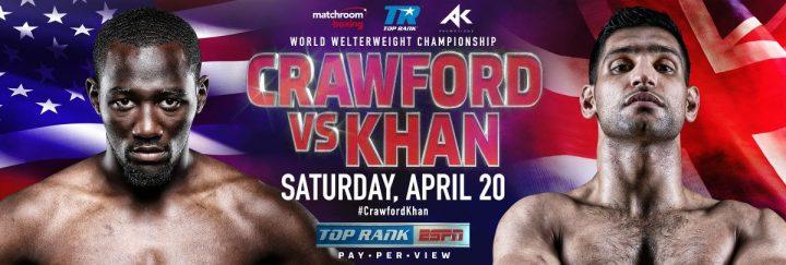 Amir Khan Terence Crawford Crawford vs. Khan ESPN PPV