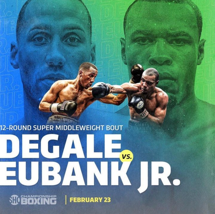 Chris Eubank Jr James DeGale DeGale vs. Eubank Jr.