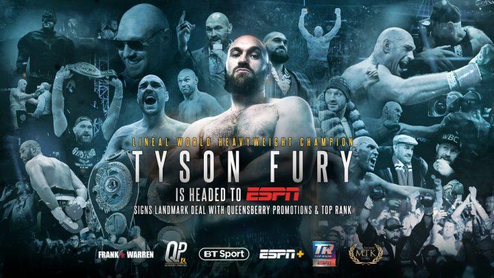 Deontay Wilder Tyson Fury ESPN Wilder vs. Fury