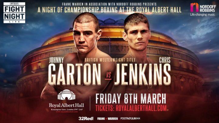 - Latest Chris Jenkins Johnny Garton
