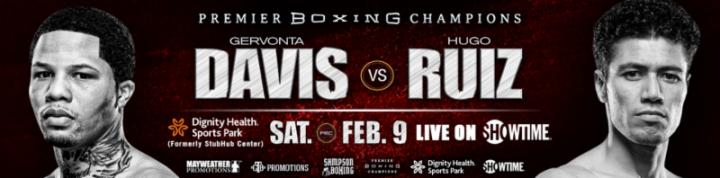 Latest Davis vs. Ruiz Gervonta Davis