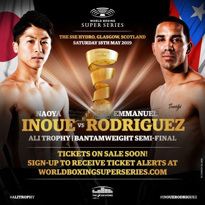 Latest Emmanuel Rodríguez Inoue vs. Rodriguez Ivan Baranchyk Josh Taylor Naoya Inoue Taylor vs. Baranchyk WBSS World Boxing Super Series