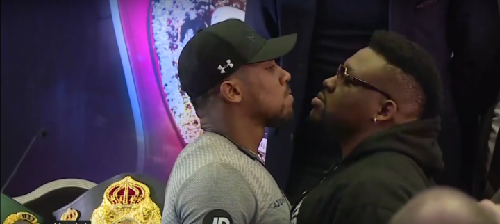 "Anthony Joshua DAZN Eddie Hearn Jarrell ""Big Baby"" Miller Matchroom Boxing Michael Hunter"