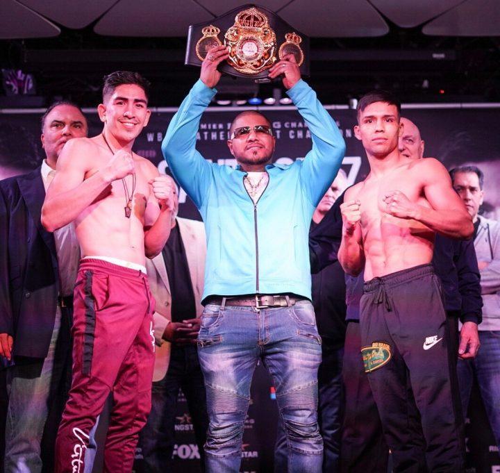 John Molina Leo Santa Cruz Omar Figueroa Jr. Rafael Rivera Santa Cruz vs. Rivera