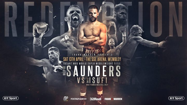 Billy Joe Saunders Saunders vs. Isufi Shefat Isufi