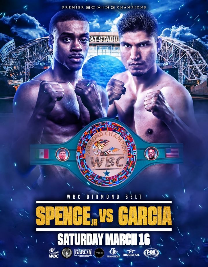 - Latest Errol Spence Jr Mikey Garcia Benavidez vs. Love David Benavidez J'Leon Love Spence vs. Garcia