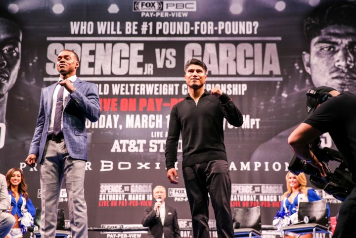 Errol Spence Jr Mikey Garcia FOX PPV Spence vs. Garcia