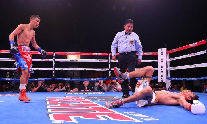 Latest Franklin Manzanilla Rey Vargas Vargas vs. Manzanilla