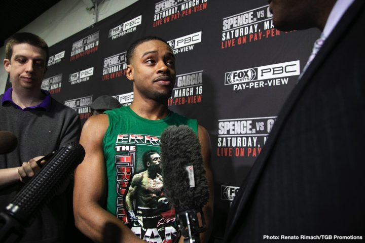 Errol Spence Jr Shawn Porter Premier Boxing Champions Spence vs. Porter WBC