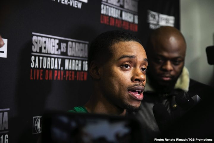 Errol Spence Jr Shawn Porter PBC Premier Boxing Champions Spence vs. Porter