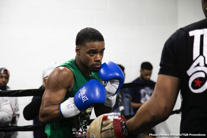 Canelo Alvarez Errol Spence Jr