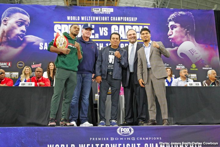 Errol Spence Jr Mikey Garcia Richard Schaefer Spence vs. Garcia
