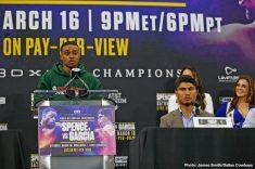 - Latest Errol Spence Jr Mikey Garcia FOX Sports PPV Spence vs. Garcia