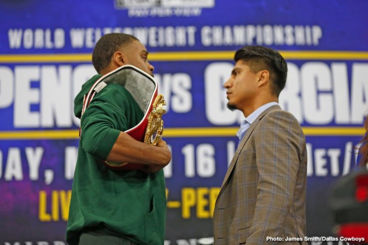 Errol Spence Jr Mikey Garcia Ray Mancini Spence vs. Garcia