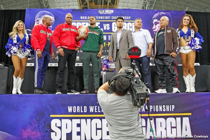- Latest Errol Spence Jr Mikey Garcia Spence vs. Garcia