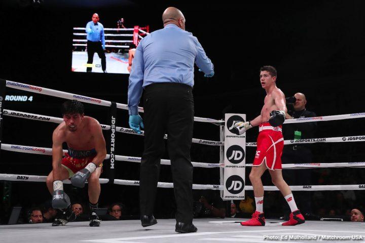 Vasyl Lomachenko Eddie Hearn Lomachenko vs. Campbell Matchroom Boxing WBC