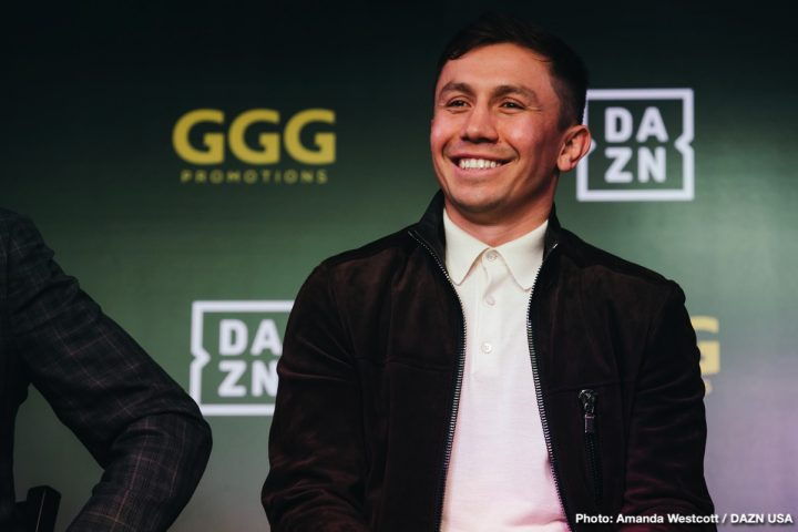 Gennady Golovkin Brandon Adams Golovkin vs. Adams