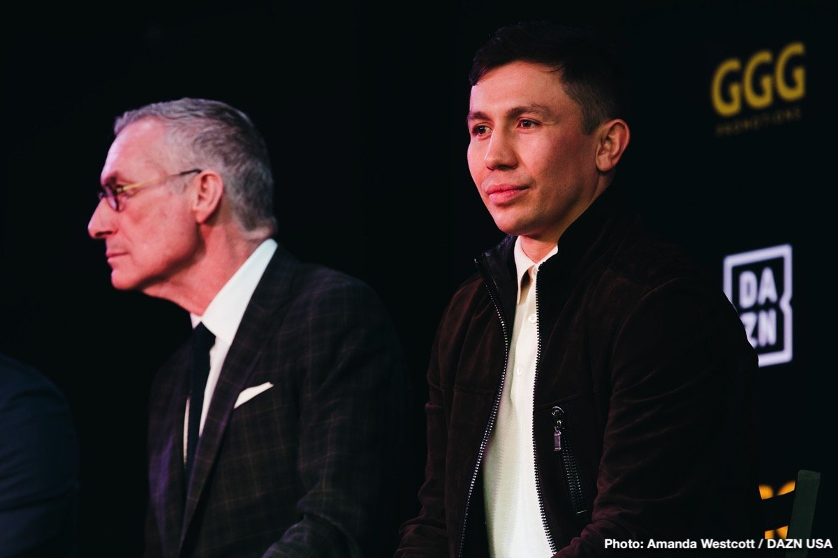 Gennady 'GGG' Golovkin - DAZN Partnership Press Event Quotes
