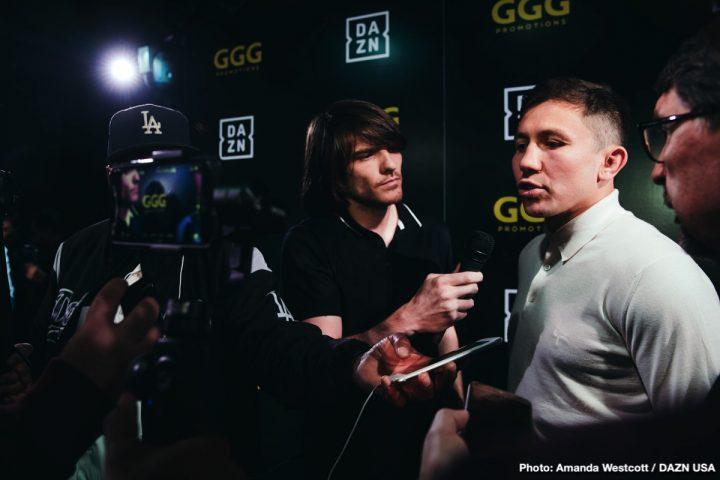 Canelo Alvarez Gennady Golovkin DAZN Golovkin vs. Rolls Steve Rolls