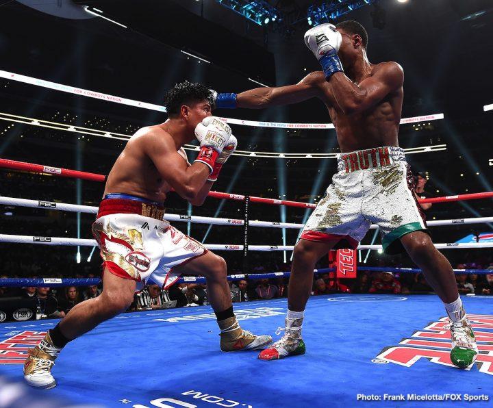 Errol Spence Jr Mikey Garcia Spence vs. Garcia