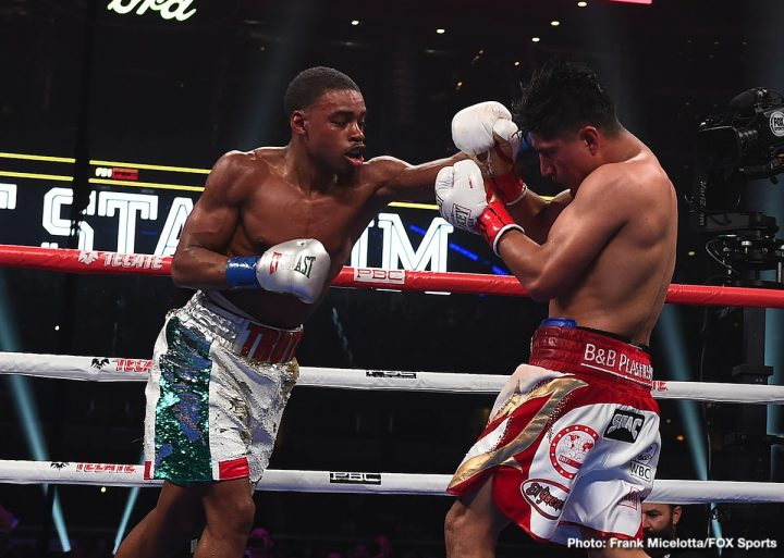 Errol Spence Jr Manny Pacquiao Mikey Garcia Terence Crawford Chris Algieri Spence vs. Garcia