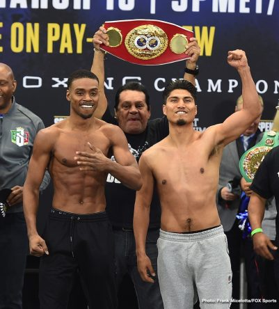 Chris Arreola Errol Spence Jr Mikey Garcia