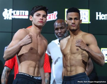 - Latest Ryan Garcia Garcia vs. Lopez