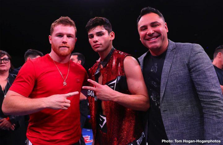 Danny Garcia Saul Alvarez Canelo vs. Jacobs DAZN Ryan Garcia