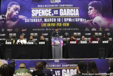 - Latest Charles Martin David Benavidez J'Leon Love Luis Nery Spence vs. Garcia