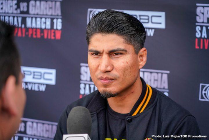 - Latest Chris Arreola Errol Spence Jr Mikey Garcia Spence vs. Garcia