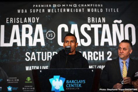 - Latest Erislandy Lara Brian Carlos Castaño Christian Hammer Lara vs. Castano Luis
