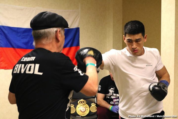 Latest Dmitry Bivol
