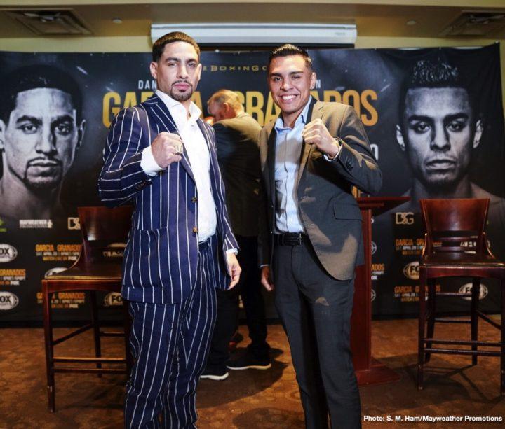 - Latest Danny Garcia Garcia vs. Granados