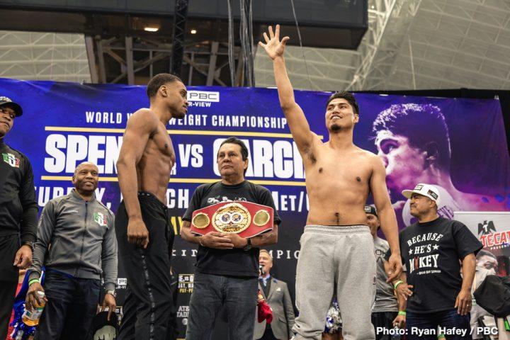 Adrien Broner Errol Spence Jr Marcos Rene Maidana Mikey Garcia Maidana vs. Broner 2 Spence vs. Garcia