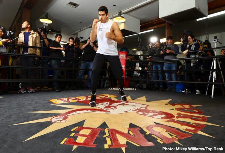Gilberto Ramirez ESPN Ramirez vs. Karpency TOMMY KARPENCY Top Rank Boxing