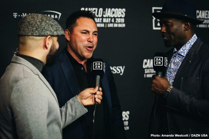 Canelo Alvarez Daniel Jacobs Floyd Mayweather Jr Oscar De La Hoya Canelo vs. Jacobs