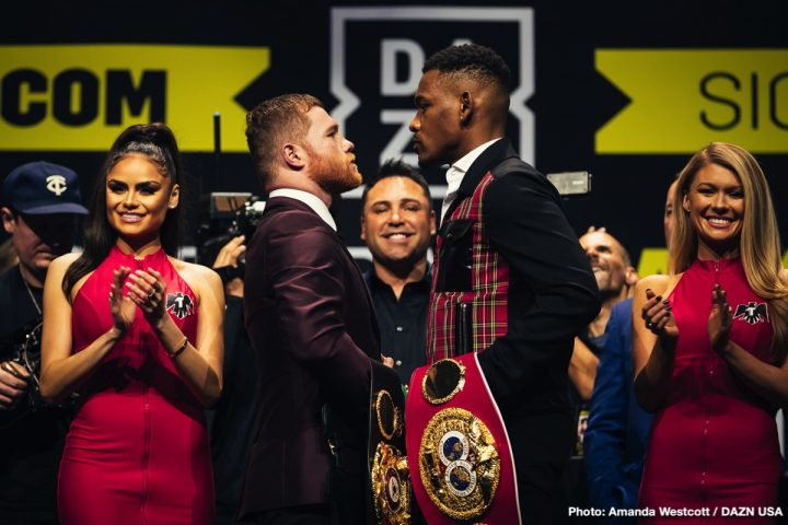 Canelo vs  Jacobs tickets still available for Sat  at T-Mobile Arena