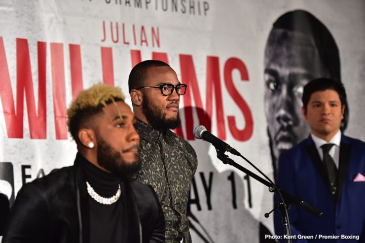 - Latest Hurd vs. Williams Jarrett Hurd Julian