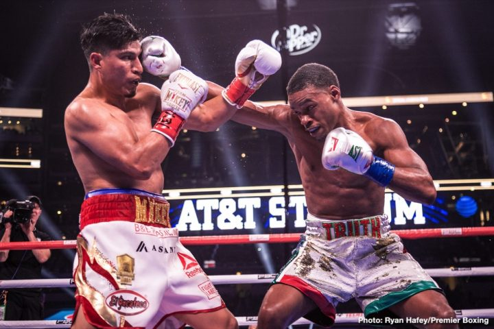 Errol Spence Jr Manny Pacquiao Mikey Garcia Spence vs. Garcia
