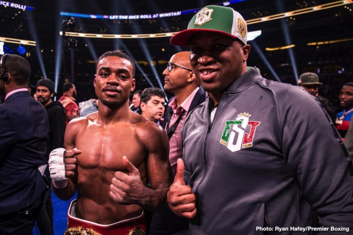 Errol Spence Jr Manny Pacquiao Mikey Garcia