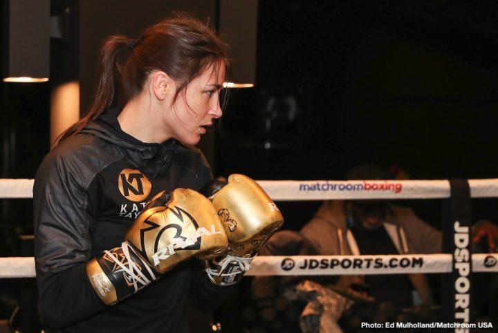 - Latest Delfine Persoon Joshua vs. Ruiz Jr Katie Taylor