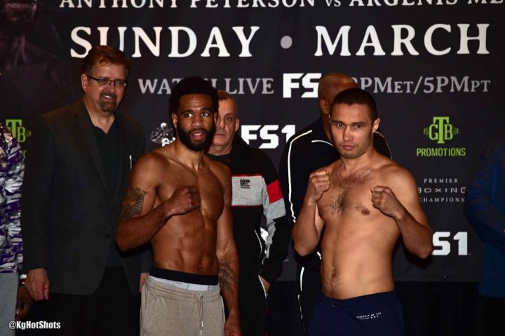 Anthony Peterson lamont peterson Argenis Méndez FS1 Peterson vs. Lipinets Peterson vs. Méndez Premier Boxing Champions Sergey Lipinets
