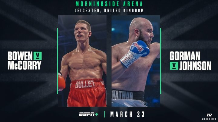 - Latest Kevin Johnson Gorman vs. Johnson Jordan McCorry Nathan Gorman Sam Bowen