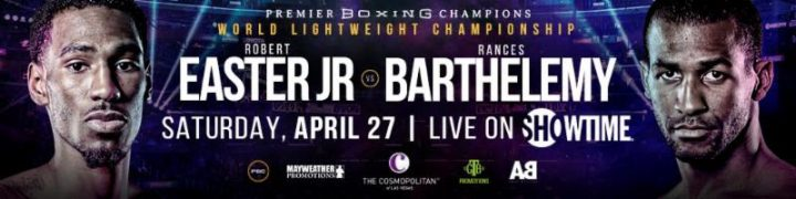 - Latest Efe Ajagba Mohamed Mimoune Rances Barthelemy Robert Easter Jr. Viktor Postol