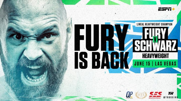 Tyson Fury Fury vs. Swartz Tom Schwarz
