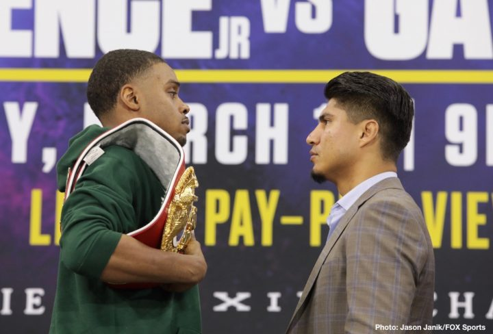 Errol Spence Jr Mikey Garcia Vasyl Lomachenko Fox Sports pay-per-view Spence vs. Garcia