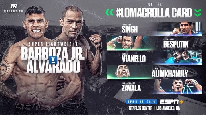 - Latest Mike Alvarado Vasyl Lomachenko Anthony Crolla Lomachenko vs. Crolla